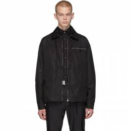 Prada Black Nylon Gabardine Jacket 192962M18000404GB