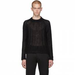 Prada Black Mohair Sweater 192962M20101708GB