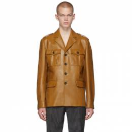 Prada Tan Leather Field Jacket 192962M18100605GB