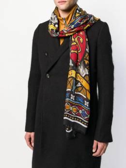 Dolce & Gabbana шарф с принтом GQ213EG3SES