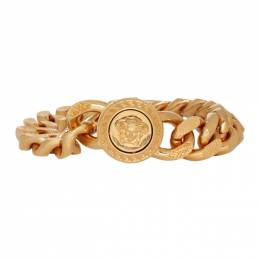 Versace Gold Large Chain Medusa Bracelet 192404M14200103GB