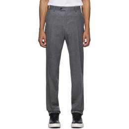 Salvatore Ferragamo Grey Tailored Trousers 192270M19101005GB