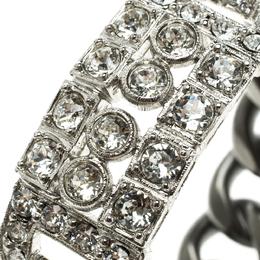 Chanel Crystal Chain Link Bracelet 124934