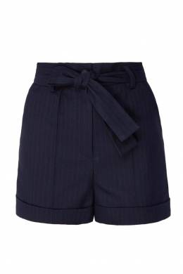 Полосатые шорты с поясом Maje 888139000