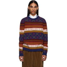 Gucci Multicolor Logo Sweater 192451M20100307GB