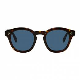 Oliver Peoples Tortoiseshell Boudreau L.A. Sunglasses 192499M13401201GB