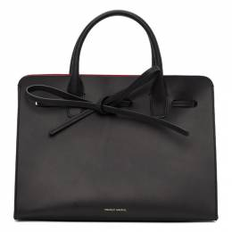 Mansur Gavriel Black Mini Sun Bag 192662F04901201GB