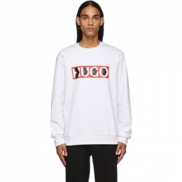 Hugo White Liam Payne Edition Dicago Sweatshirt 192084M20401101GB
