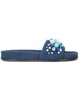 Aquazzura декорированные сандалии 'Bon Bon' BNBFLAS0SPUNAV
