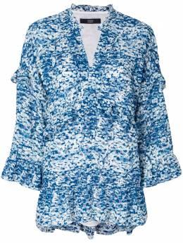 Steffen Schraut блузка с рюшами 18017915
