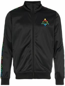 Marcelo Burlon County Of Milan спортивная куртка с логотипами CMBD002E18684106