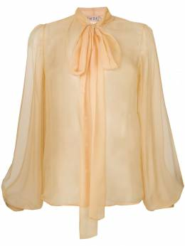 No. 21 pussy-bow blouse N2SG0515586