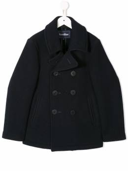 Familiar double-breasted fitted coat 463351
