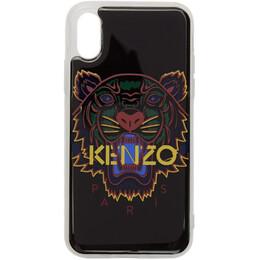 Kenzo Black Tiger iPhone X/XS Case F96COKIFXTGR