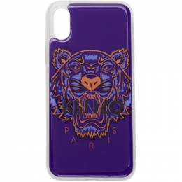 Kenzo Blue Tiger iPhone X/XS Case F96COKIFXTGR