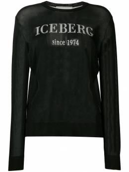 Iceberg джемпер с логотипом интарсия A0017507
