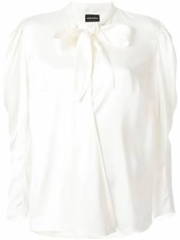 Magda Butrym блузка с бантом 1405192007