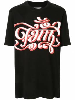 Faith Connexion футболка с логотипом X3711J00F51