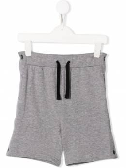 Stella McCartney Kids спортивные шорты с лампасами 539959SMJ53
