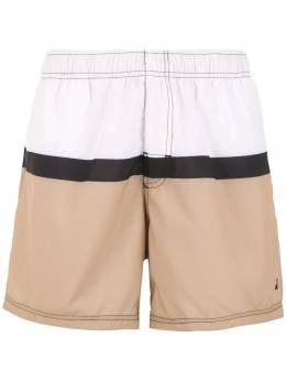 Osklen плавательные шорты со вставками 53947