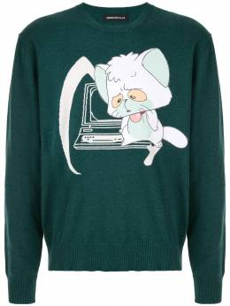 Undercover свитер с нашивкой UCW49062