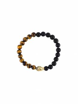 Nialaya Jewelry браслет с бусинами Buddha MCHCO046