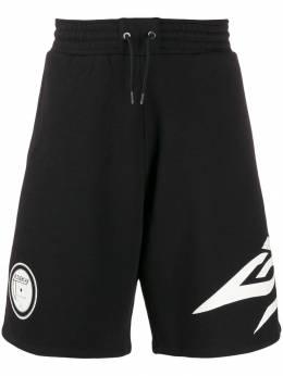 Givenchy спортивные шорты с логотипом BM50D430CR