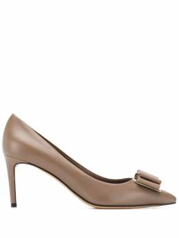 Salvatore Ferragamo классические туфли-лодочки на шпильке 714607