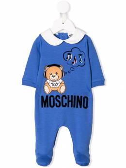 Moschino Kids комбинезон для новорожденного Teddy Bear MUT01BLDA17