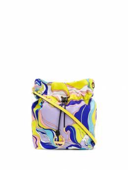 Emilio Pucci сумка-ведро с абстрактным принтом 9RSD389R480