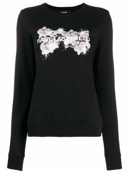 Karl Lagerfeld свитер Orchid с логотипом 96KW1801999