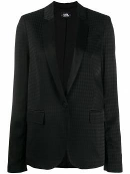 Karl Lagerfeld жаккардовый блейзер Karl 96KW1408999