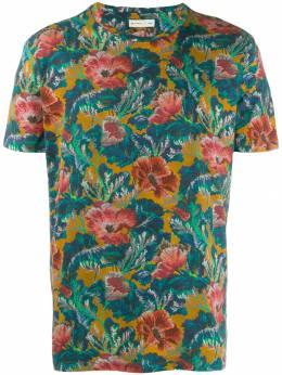 Etro футболка с цветочным принтом 1Y0205533