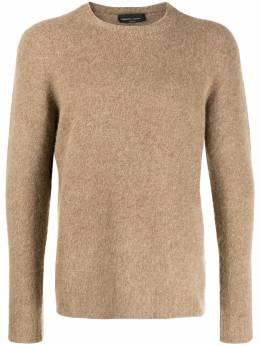 Roberto Collina свитер узкого кроя с длинными рукавами RB29001