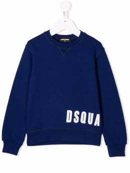 Dsquared2 Kids толстовка с логотипом DQ03PB