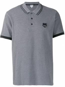 Kenzo рубашка-поло с вышивкой Tiger F965PO0474BB
