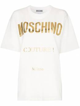Moschino футболка с логотипом J07015540