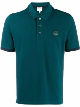 Kenzo рубашка-поло с логотипом F965PO0474BB
