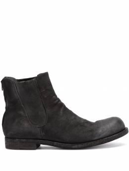 Officine Creative ботинки с присборенным верхом BUBBLE029