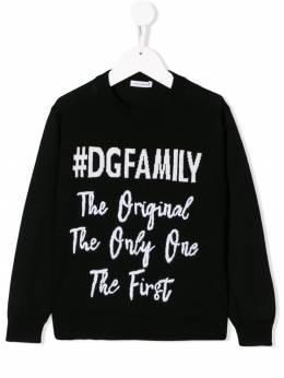 Dolce & Gabbana Kids джемпер #DGFamily L4KW31JAVOD