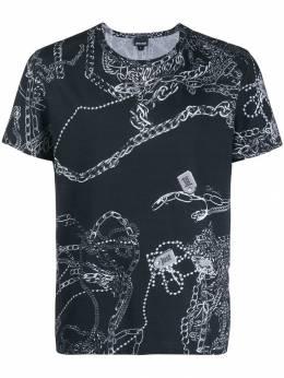 Just Cavalli футболка с принтом S01GC0570N21427