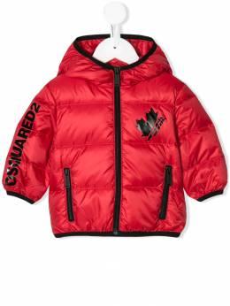 Dsquared2 Kids пальто-пуховик на молнии DQ03LRD00WQ