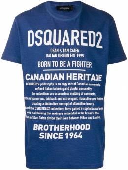Dsquared2 футболка с надписью S74GD0594S22507