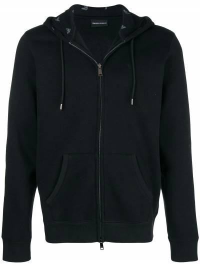 Emporio Armani basic hooded jacket 8N1M011JQPZ - 1