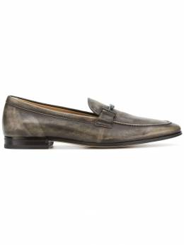 Tod's distressed Double T loafers XXM86A0Y200GDQ