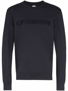 C.P. Company толстовка с вышитым логотипом MSS089A002246G