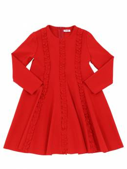 Платье Из Джерси Милано С Рюшами Il Gufo 70I8Z9145-Mzcz0