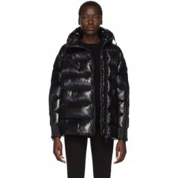 Moncler Black Down Liriope Jacket E2093469090568950