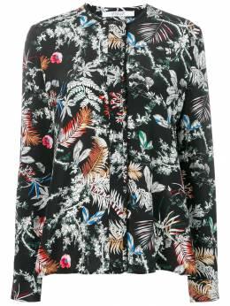 10 Crosby Derek Lam блузка с цветочным принтом TF91726WF