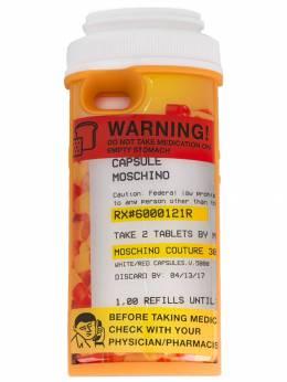 Moschino чехол для iPhone 6 в форме упаковки таблеток SS17A79018303